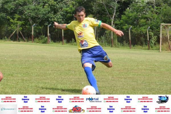 Fernando Lara em jogada da ida das quartas de finais da Copa CIF/Foto:Marcos Prudente