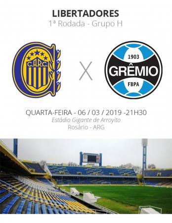 Rosario Central x Grêmio: tudo o que você precisa saber sobre o jogo pela Libertadores