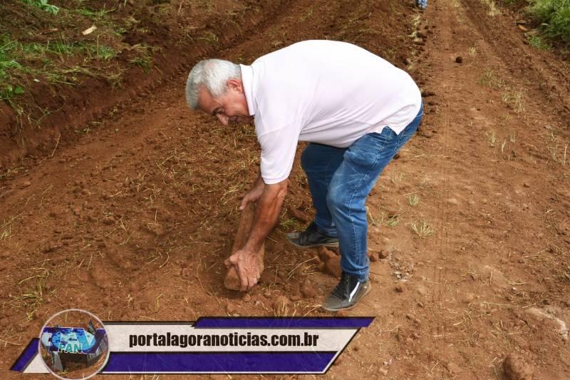 Barracão - Administração dá prioridade para a recuperação das estradas rurais