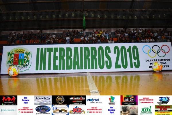 Quatro categorias se enfrentam hoje pelo Campeonato Interbairros 2019