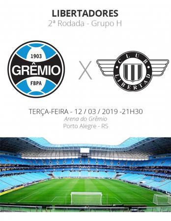 Grêmio x Libertad: tudo o que você precisa saber sobre o jogo pela Libertadores