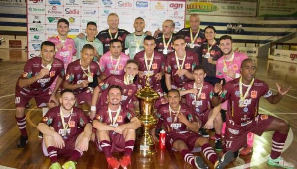 AGN Capinzal vence a Copa do Campeões