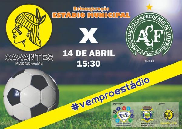 Amistosos vão marcar a reinauguração de estádio municipal de Planalto