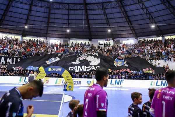 Divulgada a tabela da Liga Nacional de Futsal 2019