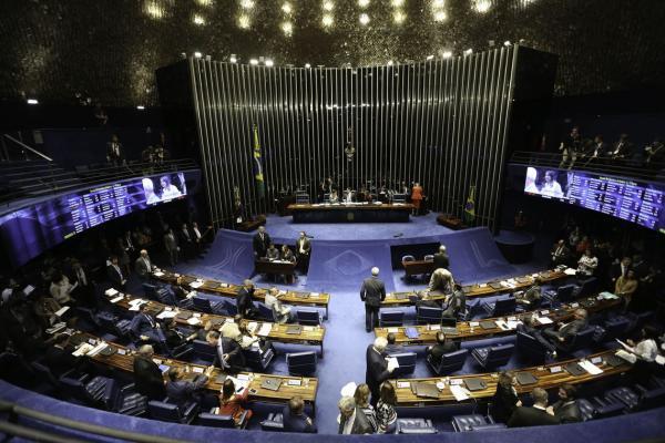 Plenário do Senado (Foto: Fabio Rodrigues Pozzebom/Agência Brasil)