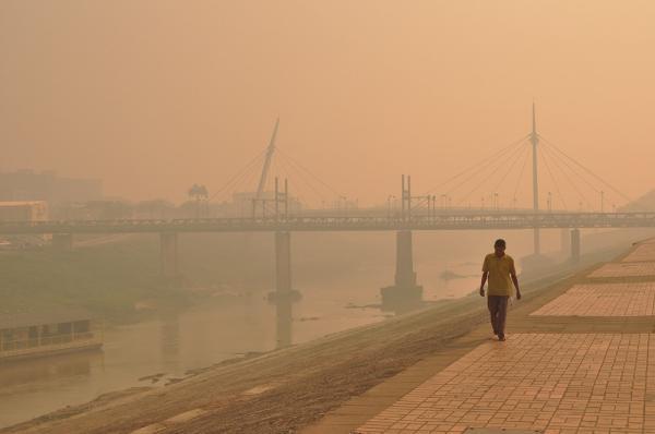 Relatório da ONU aponta riscos da poluição do ar — Foto: Juan Diaz/Arquivo Pessoal