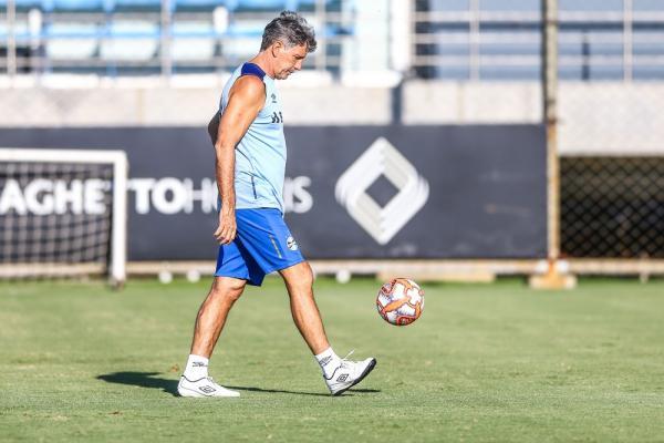 Renato Gaúcho vai manter equipe que jogou pela Libertadores — Foto: Lucas Uebel / Grêmio F.B.P.A.