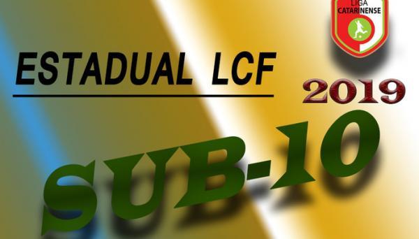 Estadual LCF Sub-10 começa no dia 13 de abril