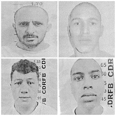 Pedro, Reginaldo, Ronaldo e Wellington – Foto PEFB