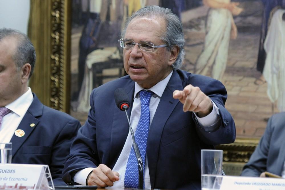 Ministro da Economia, Paulo Guedes — Foto: Cleia Viana/Câmara dos Deputados