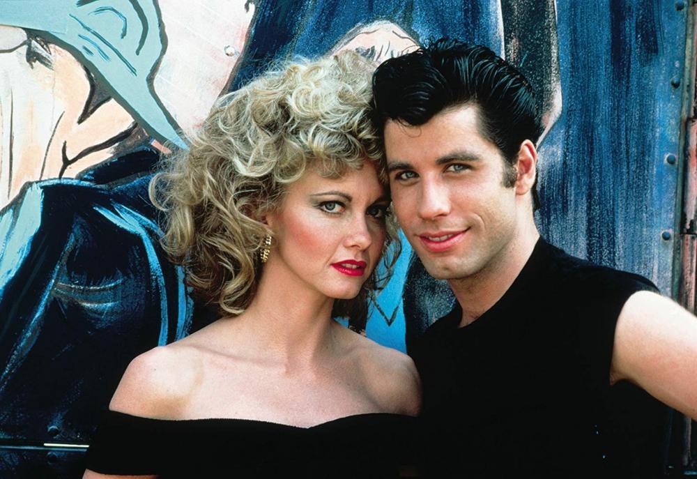 Olivia Newton-John e John Travolta em 'Grease' — Foto: Divulgação