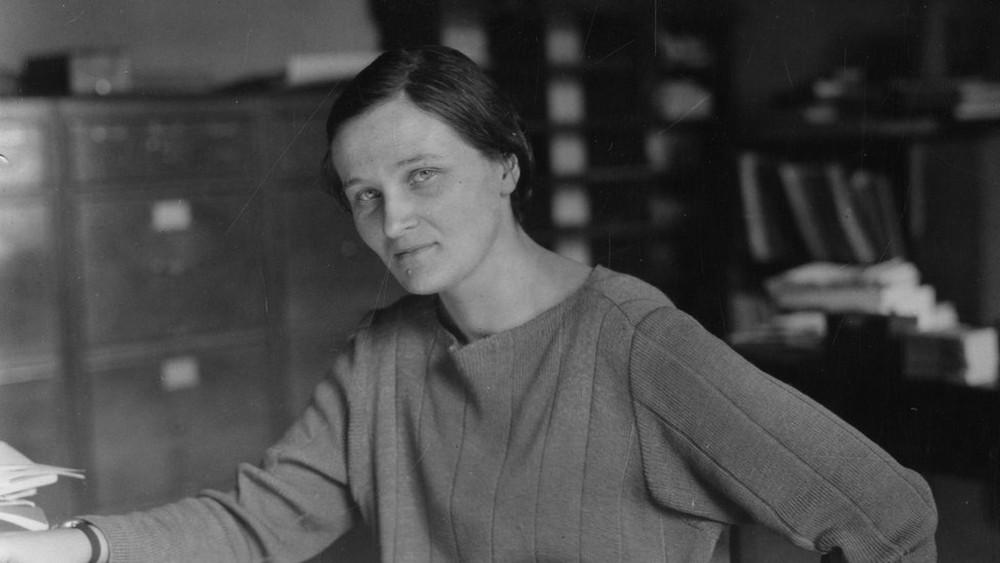 Cecilia Payne-Gaposchkin foi uma das grandes astrônomas da história — Foto: SMITHSONIAN INSTITUTION ARCHIVES