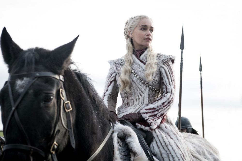 Daenerys Targaryen (Emilia Clarke) em 'Game of Thrones' — Foto: Divulgação/HBO