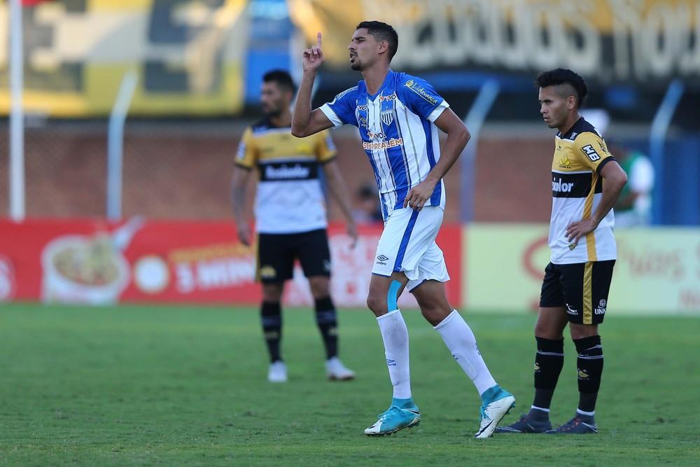 Daniel Amorim tem 13 gols na temporada — Foto: Cristiano Andujar/Futura Press