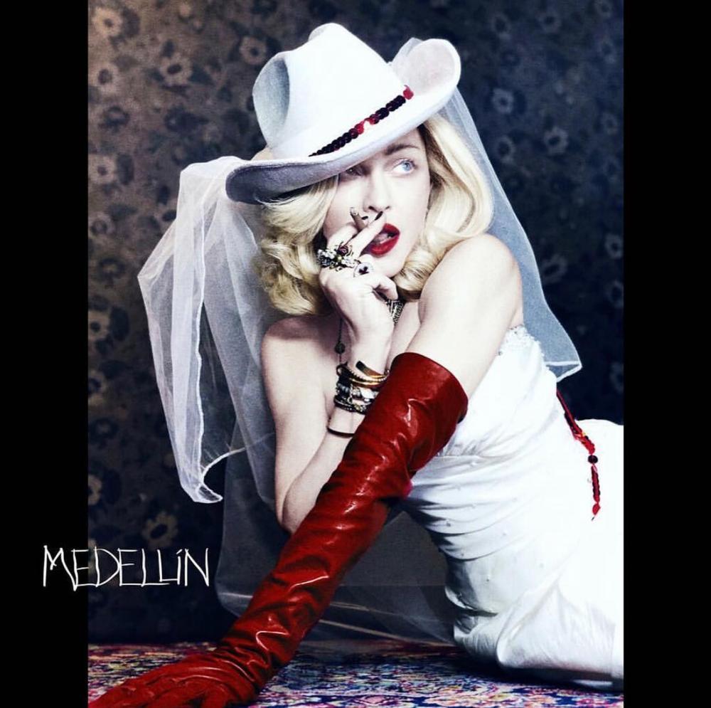 Madonna lança 'Medellín' em parceria com Maluma nesta quarta (17) — Foto: Reprodução/Instagram/Madonna