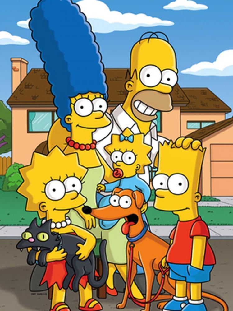 A família de 'Os Simpsons' — Foto: Divulgação