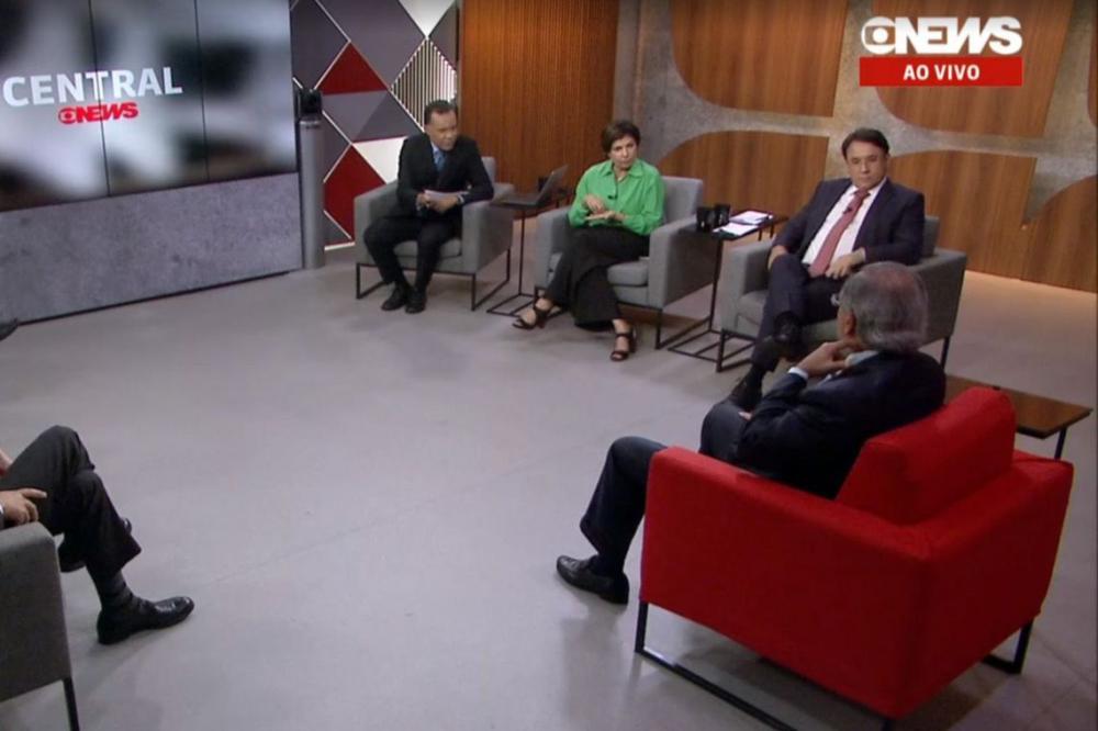Reprodução GloboNews/PauloGuedes
