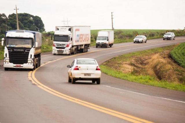 BR-282, em SC, é uma das rodovias mais perigosas do Estado(Foto: Diorgenes Pandini / Diário Catarinense)