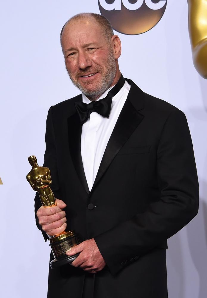 Steve Golin, produtor de 'Spotlight', morre aos 64 anos — Foto: Robyn BECK / AFP