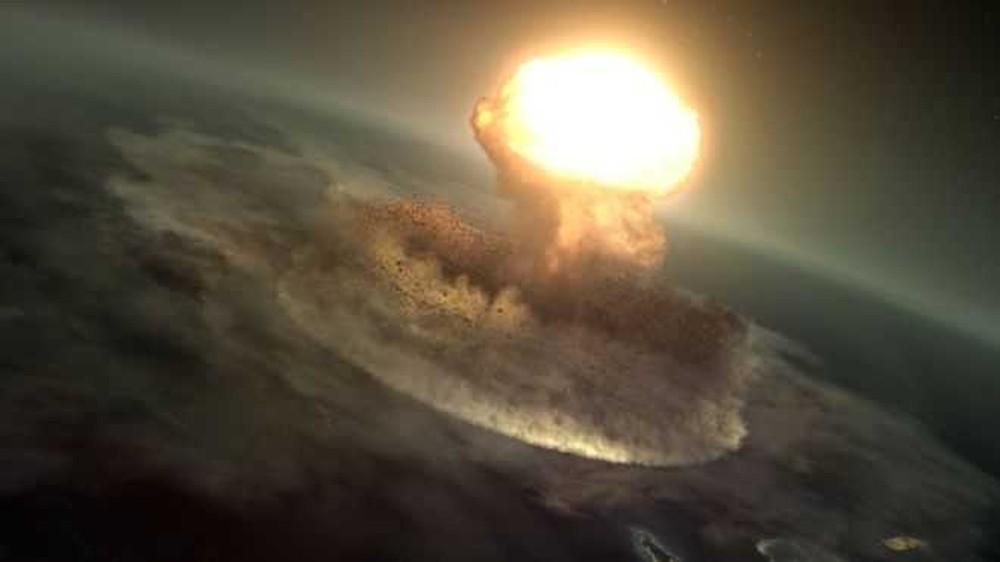 Astrônomos de diferentes partes do mundo enfrentaram o desafio de calcular como desviar um asteroide da rota da Terra — Foto: Nasa Scientific Visualization Studio