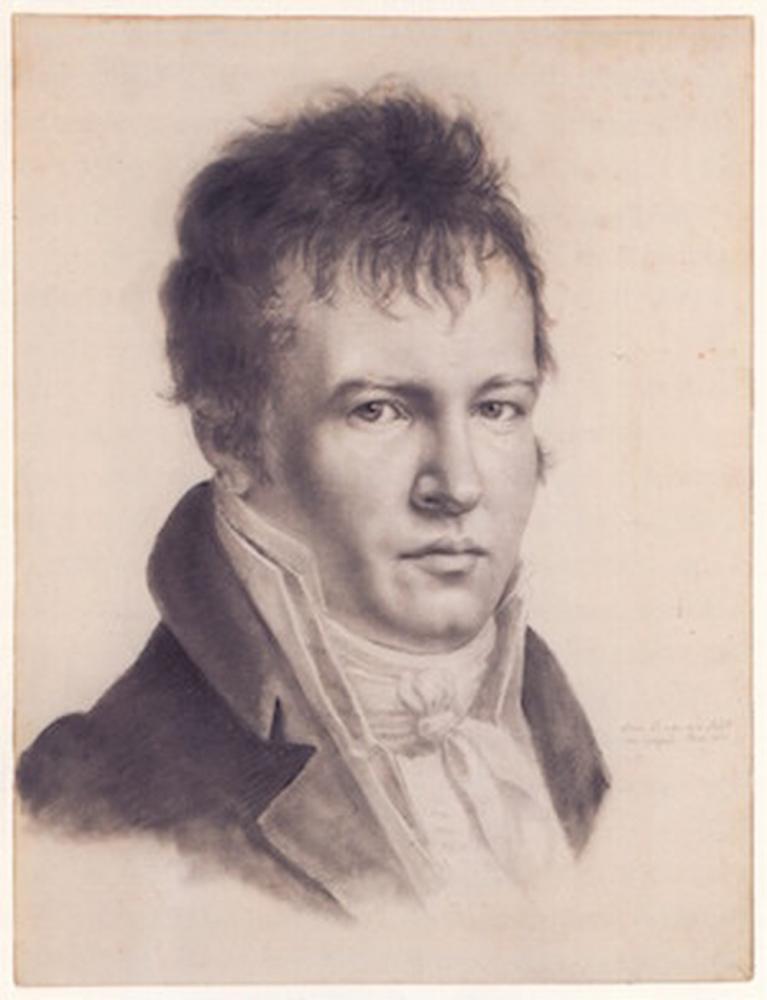 O explorador e cientista alemão Alexander von Humboldt (1769-1859) — Foto: Reprodução