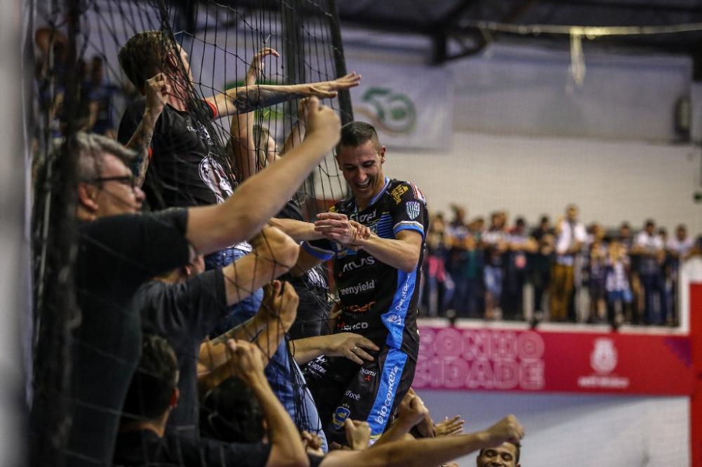 Di Maria marcou o gol do título da LNF 2018 e segue como um dos grandes nomes do Pato/ Foto: Mauricio Moreira