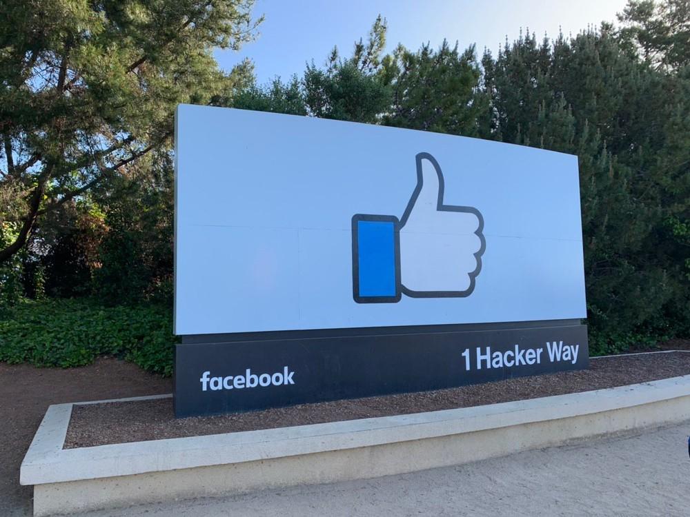 Sede do Facebook, na Califórnia — Foto: Thiago Lavado/G1