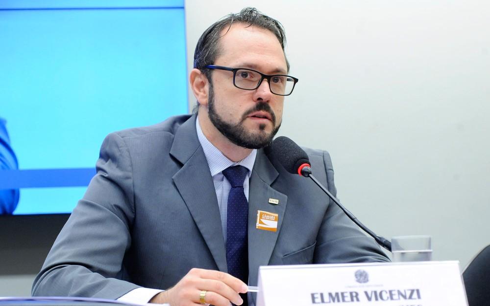 O delegado Elmer Vicenzi, então como presidente do Inep, participou de audiência na Câmara no dia 14 — Foto: Cleia Viana/Câmara dos Deputados
