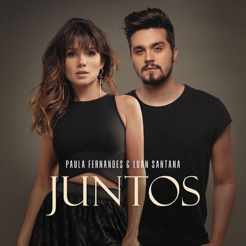 Capa do single 'Juntos', de Paula Fernandes e Luan Santana — Foto: Divulgação / Universal Music