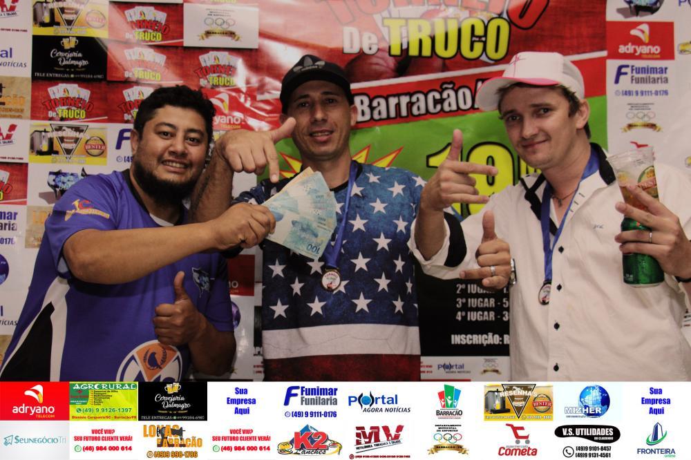 Claudio e Belo, campeões do Troneio de Truco PANTV