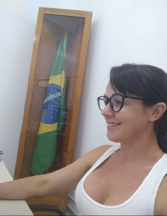 Dianete Bruschi - Secretária da Junta de Serviço Militar de Barracão/ Ascom