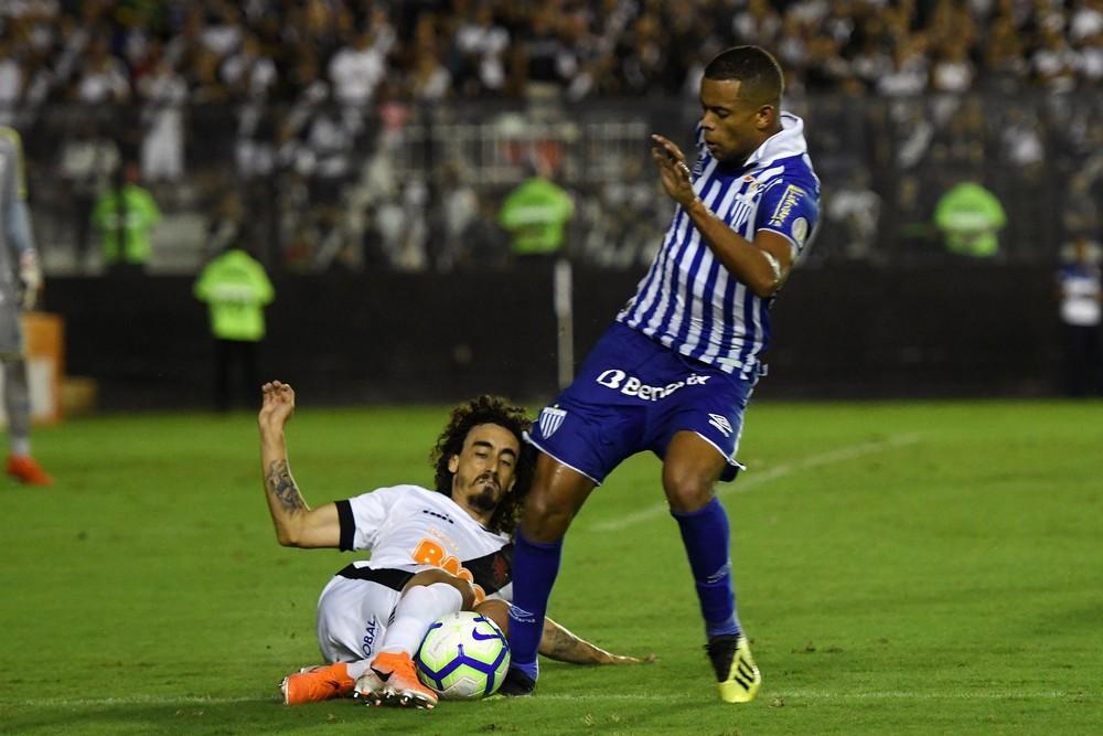 Caio Paulista em ação contra o Vasco — Foto: ALEXANDRE DURÃO/CÓDIGO19/ESTADÃO CONTEÚDO