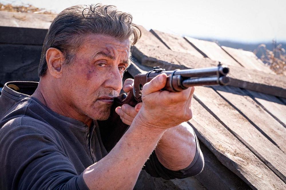 Sylvester Stallone em cena em 'Rambo V: Last Blood' — Foto: Divulgação