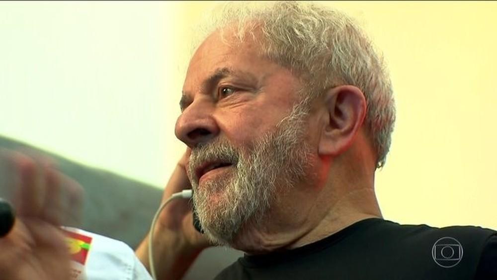 Além do caso do triplex, o ex-presidente Lula é réu em outras seis ações penais — Foto: Reprodução/JN
