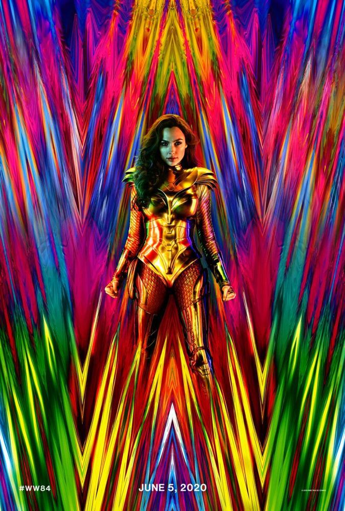 Cartaz de 'Mulher-Maravilha 1984' com Gal Gadot — Foto: Divulgação