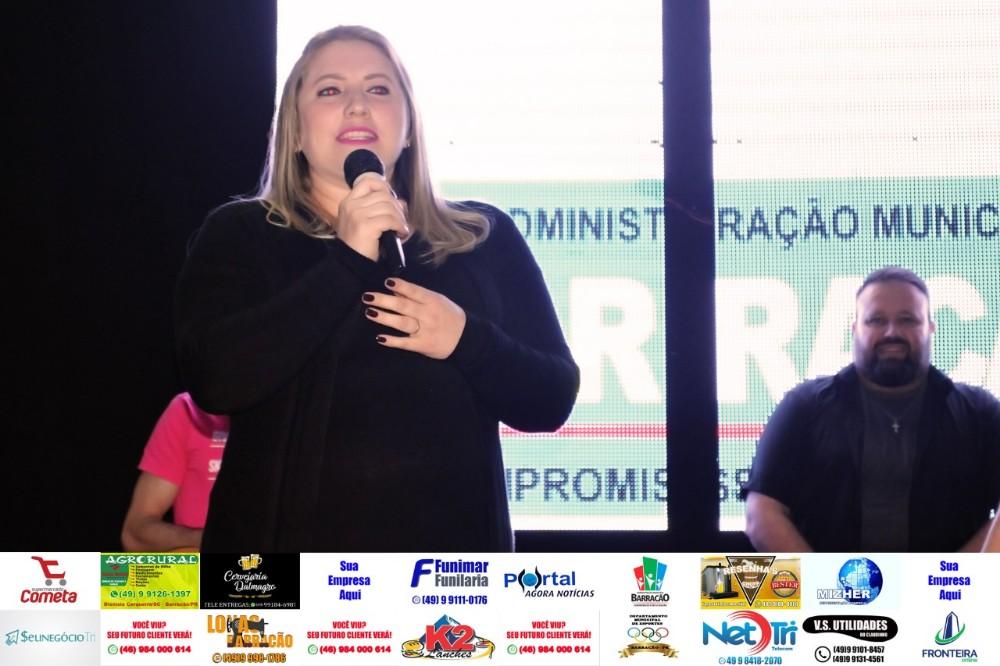 Mulher é ganhadora dos palpites da Loteria da APAE
