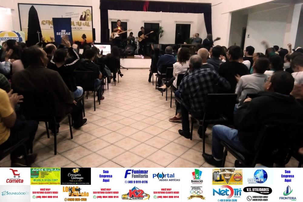 Barracão - Show do do MEI contou com ótima presença de empreendedores