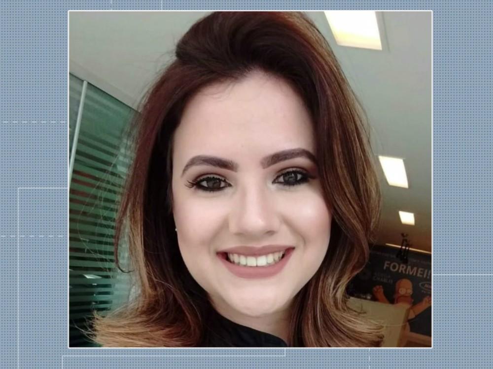 Aline Miotto Nadolny, de 27 anos, era terapeuta ocupacional — Foto: Reprodução/RPC