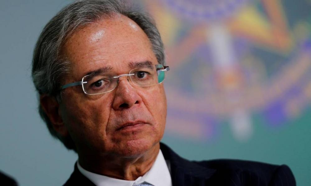 O ministro da Economia, Paulo Guedes Foto: Adriano Machado / Reuters