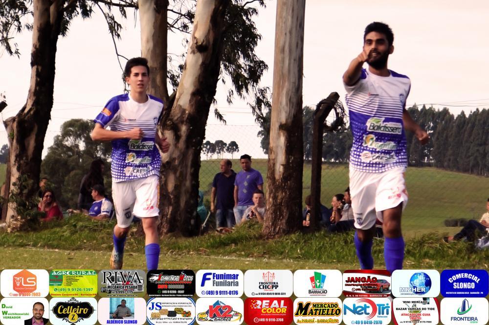 André comemorando o primeiro gol do Harmonia/Foto:Marcos Prudente