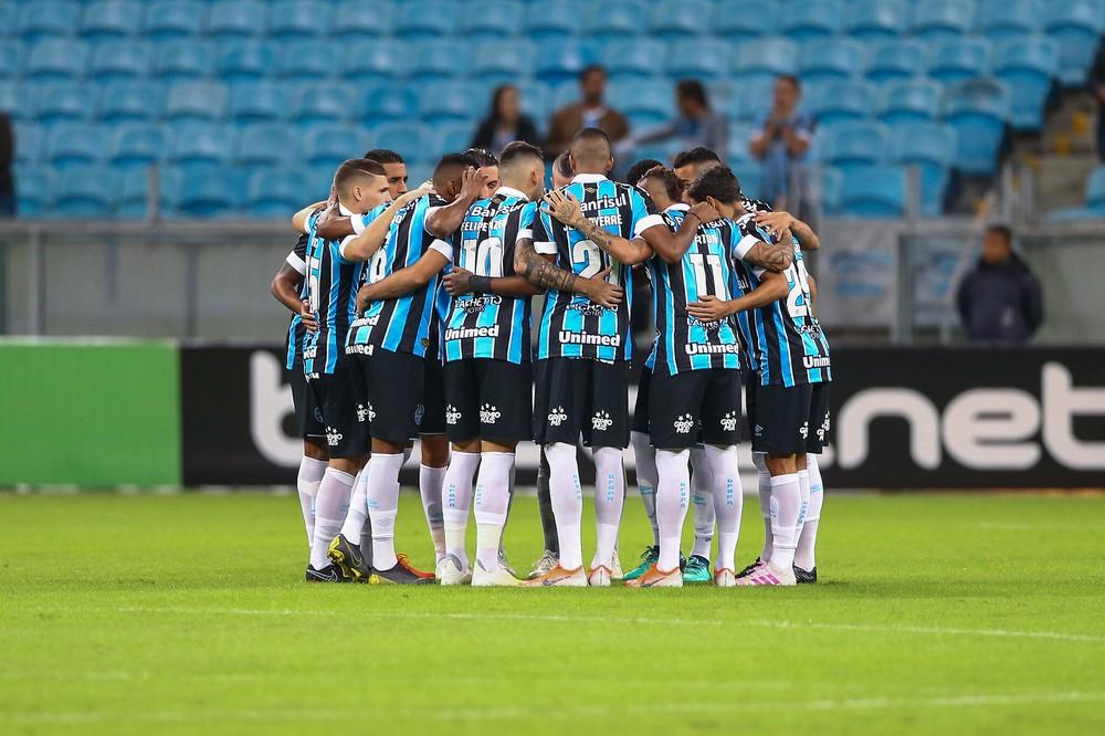 Grêmio alternou bons jogos e atuações ruins em 2019 — Foto: Lucas Uebel / Grêmio FBPA