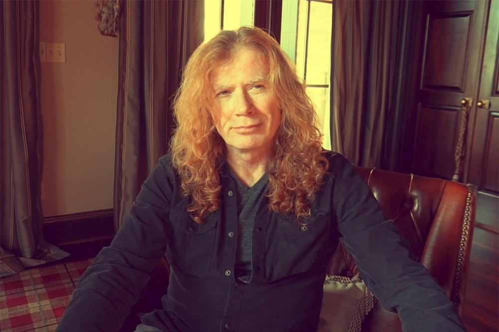 Dave Mustaine, vocalista da banda de metal Megadeth — Foto: Divulgação