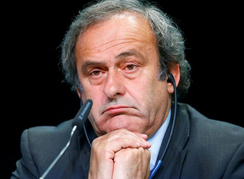 O ex-atacante da França e ex-presidente da Uefa, Michel Platini — Foto: Ruben Sprich/Arquivo Reuters