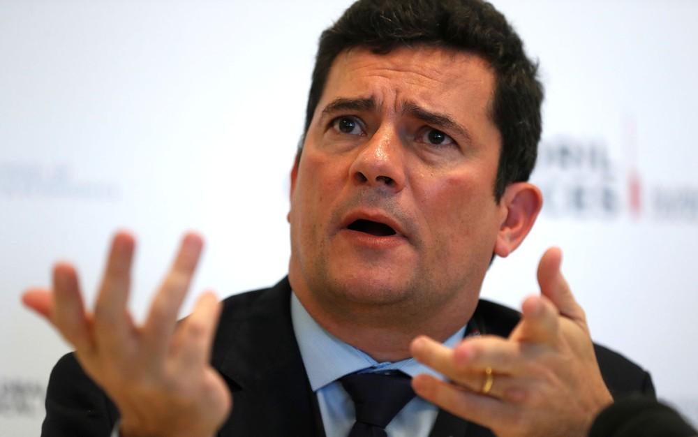 O ministro da Justiça, Sergio Moro — Foto: Rafael Marchante/Reuters