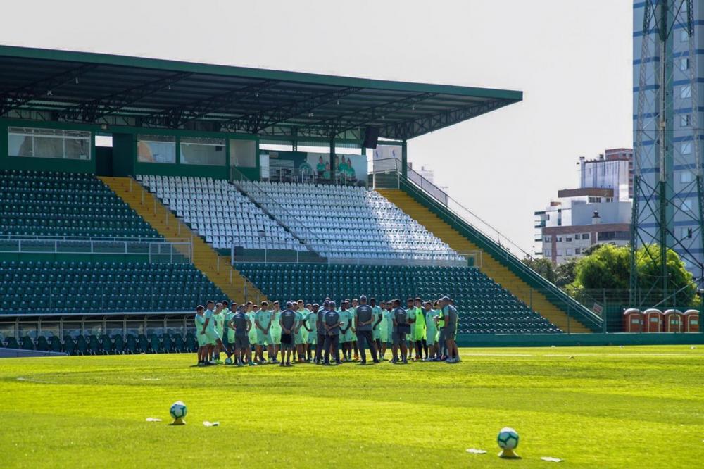 Chapecoense já teve 47 jogadores em campo nesta temporada — Foto: Dinho Zanotto/Arquivo pessoal