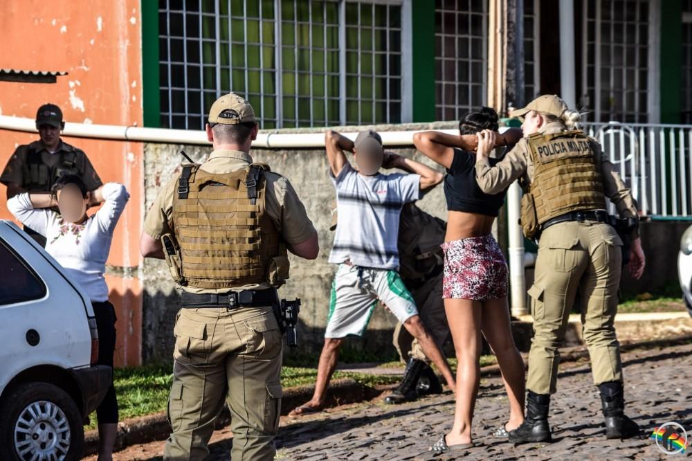 PM prende foragido em São Miguel do Oeste