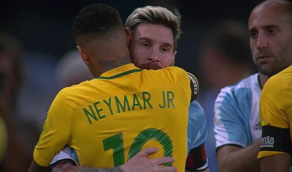 Brasil x Argentina, 2016, no Mineirão — Foto: Reprodução/TV Globo