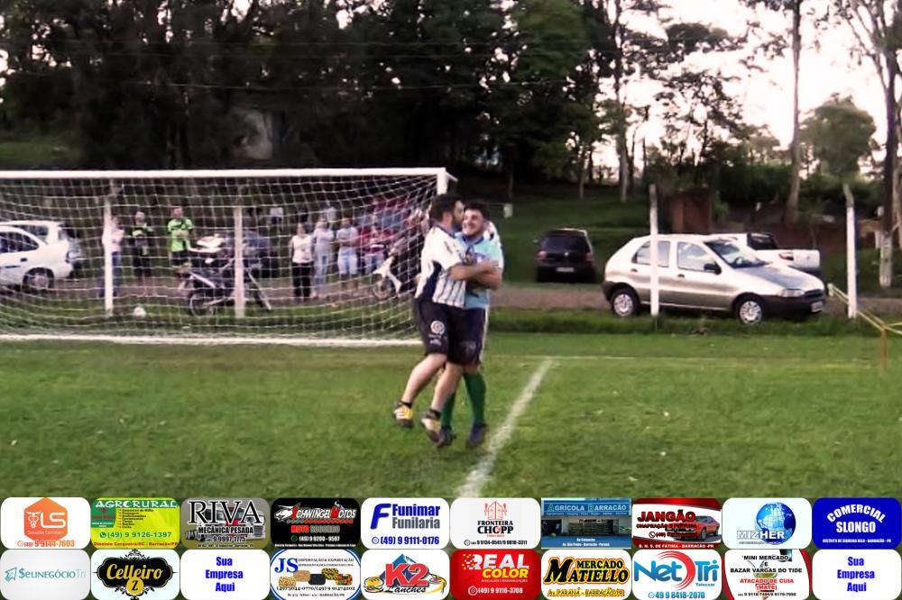 Edson e Emerson Poncio comemorando o primeiro lugar/Foto:Reprodução PANTV