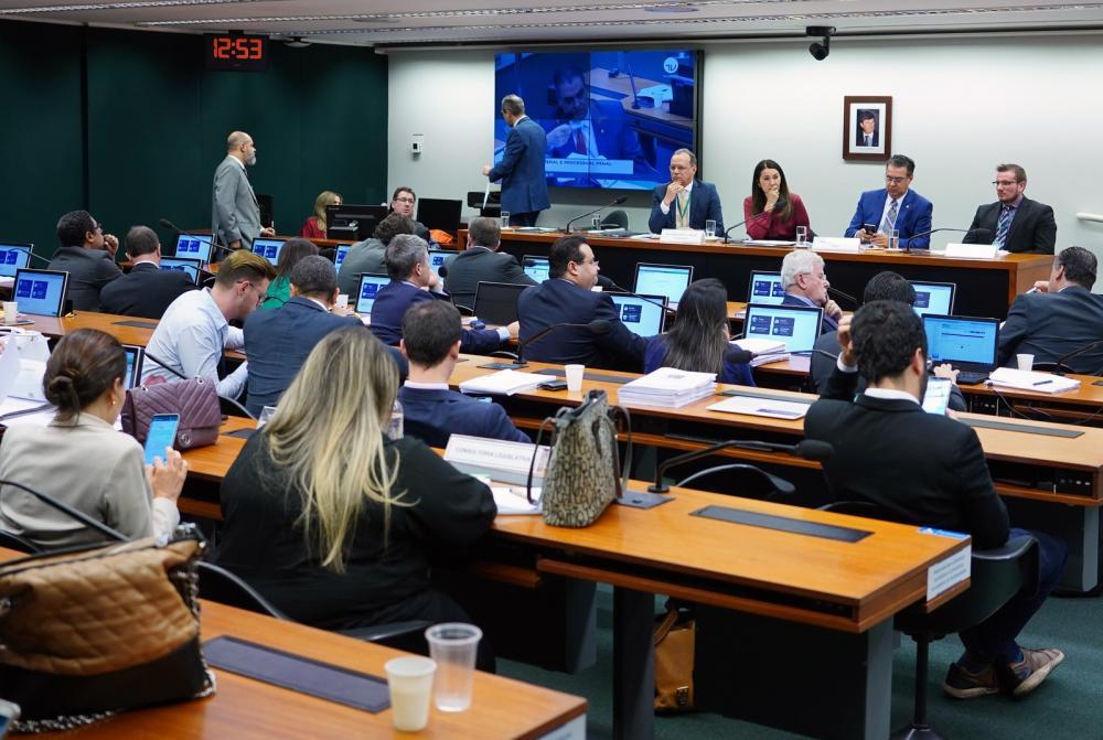 Grupo de trabalho da Câmara que analisa o projeto com medidas anticrime do governo Bolsonaro é formado por 16 deputados — Foto: Will Shutter, Câmara dos Deputados