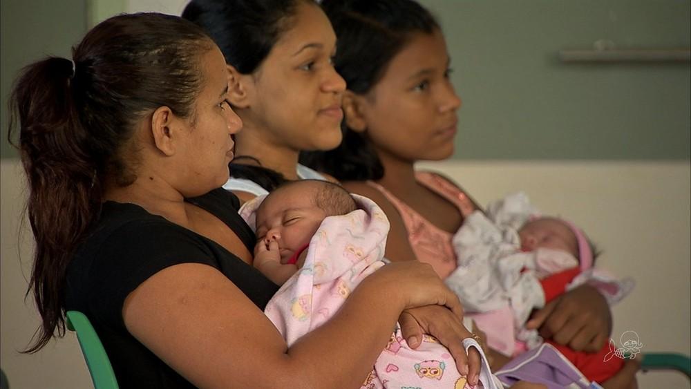 Vacinação com a pentavalente em Fortaleza — Foto: TV Verdes Mares